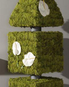 Fleurt design fa zuzmóval fedve