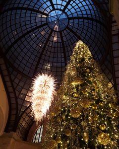 Four Seasons Hotel karácsonyfa