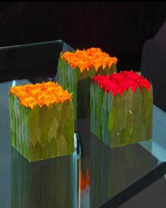 Vermont rózsakockák fagyasztva tartósított virágokból
