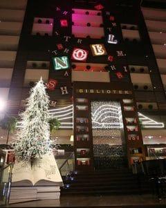 Sofitel Christmas decoration