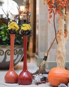 Halloween lobby decoration Gresham Palace