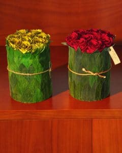 Vermont rose cylinder ornaments and gifts
