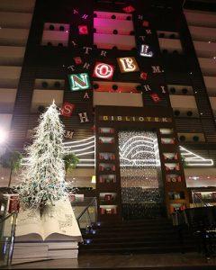 Sofitel karácsonyi dekoráció