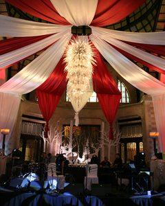 Szilveszteri dekoráció cirkusz témára