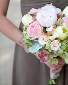 Esküvői örömanya csokor
