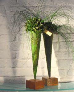 Leveles dekoráció tartósított zöldekből