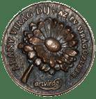 Fleurt Virágbolt Aranyvirág díj plakettje